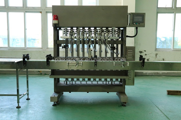 China automatic linear filling machine for honey jam with high precision