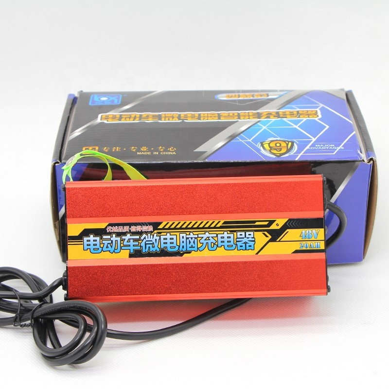 Top quality Universal electric bike battery charger with various <strong>protections</strong>