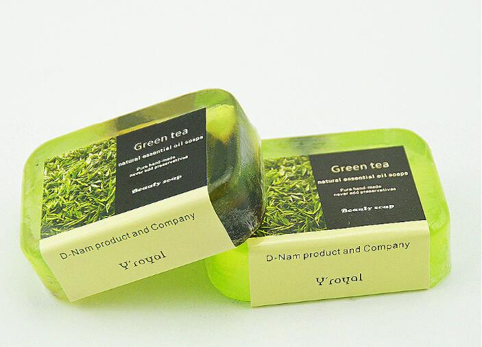 Green Tea Essential Oil Soap Skin Care Soap