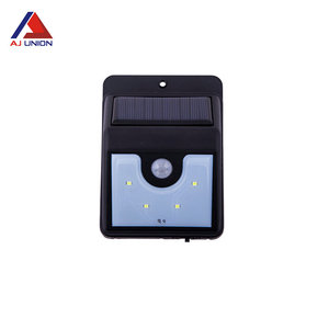 Decorative battery outdoor wall mounted solar wall lamp