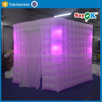 inflatable portable photo booth advertising inflatable air photobooth props for sale
