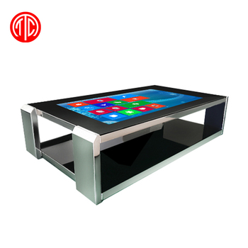 55 inch Interactive foil touch screen table lcd digital display