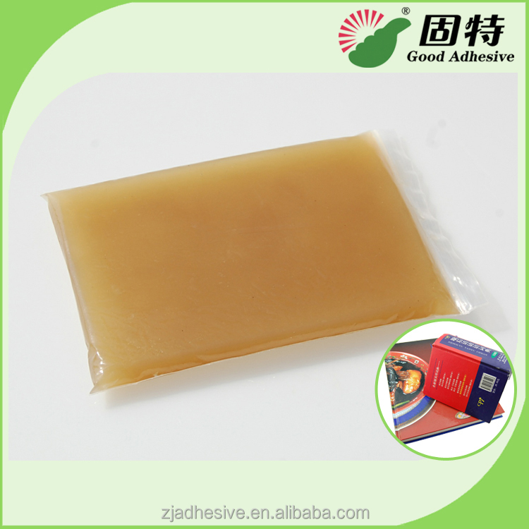 Gelatine glue for automatic case making machine