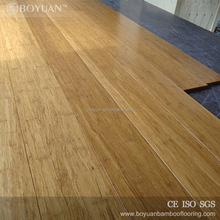 BY top brand Click Locked anti-slip bamboo flooring charcoal