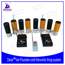 1RC2BY4 Ice Fountain Stage Cold Fireworks Firing System