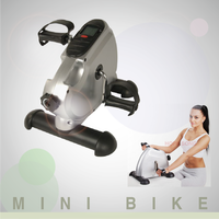 Indoor home gym cycling trainer equipment physical therapy mini bike