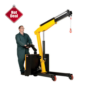 500kg 1000kg 2000kg 3000kg Mould Electric Battery Powered Telescopic Lifting Minicrane Mobile Movable Small Hydraulic Mini Crane