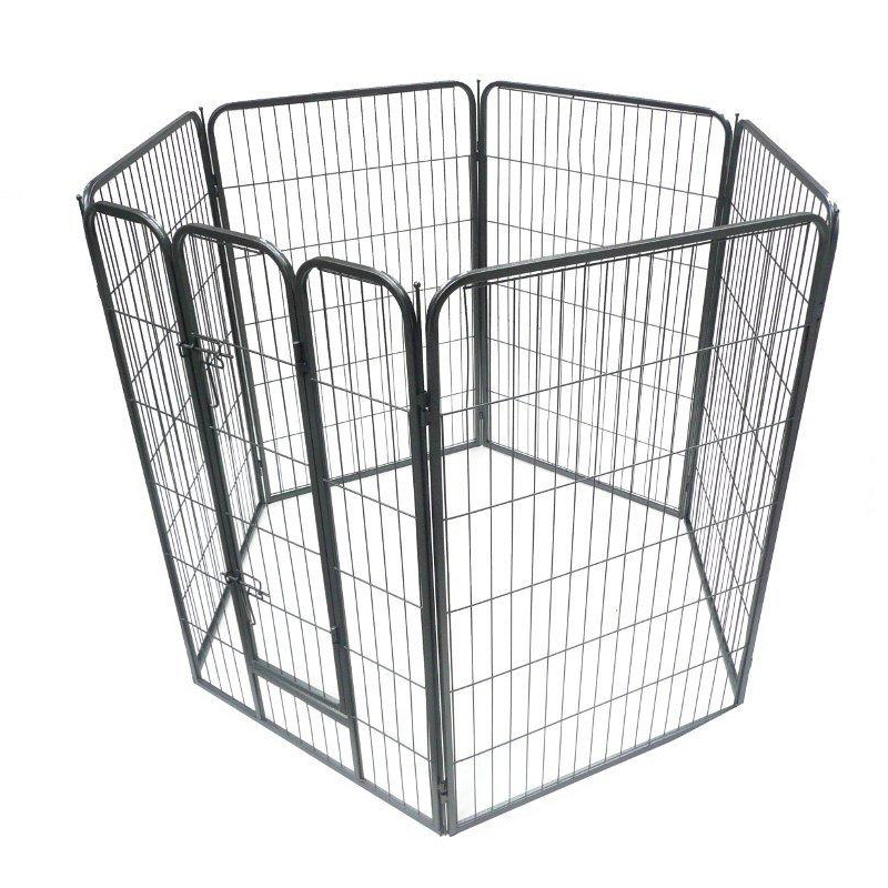 Heavy Duty square tube Puppy dog Exercise playpen China manufacturer