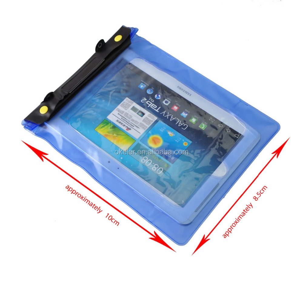 Universal Waterproof Underwater Diving Case Cover Pouch Dry Bag for PDA Tablet