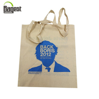 Qingdao Shandong factory printed cheap shopping tote cotton bag