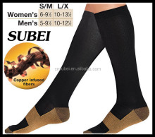 High quality copper fiber medical bonvolant compression socks