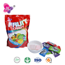 Halal assorted soft chewy fruit candy brands