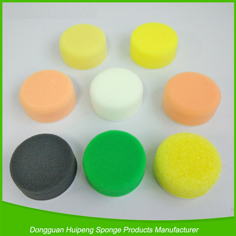 Car waxing foam car care product car polishing wax applicator sponge pads