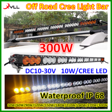 new arrival,6 inch 30w waterproof offroad straight led light bar Optic/ 3D/4D/5D lens