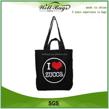 Printed cotton bag/custom printed canvas tote bag/promotional bag
