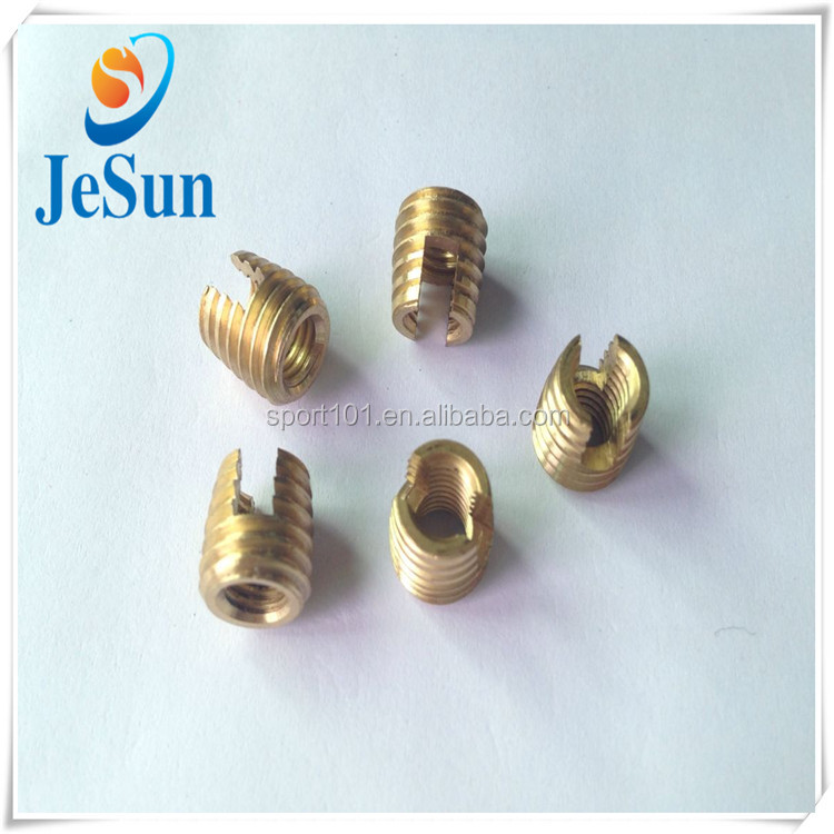 Alibaba China Supplier M5 Brass Round Slotted Nuts