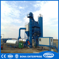 Used Road Machinery 240t/h asphalt mixing plant for sell in Africa