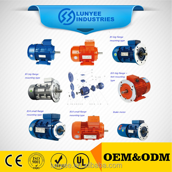 Y series three phase 380v 50hz iec standard motor for pumps
