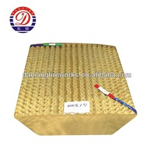 408 Shots Z Shape 1.3G Professional Fireworks Display Cake Manufacturer