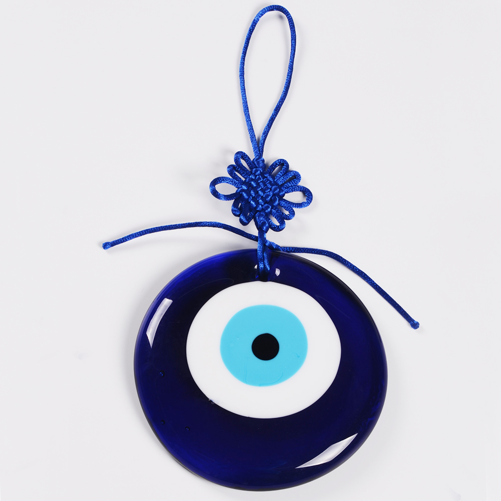 Classic Evil Eye Items 11CM Diameter Evil eye Pendant Hanging Home Decoration