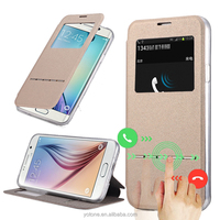 Wholesale hot sale sublimation wallet tpu mobile phone case cover for samsung galaxy s6 edge