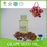 100% Pure Cold Pressed Grape Seed Oil Extraction for Cosmetics