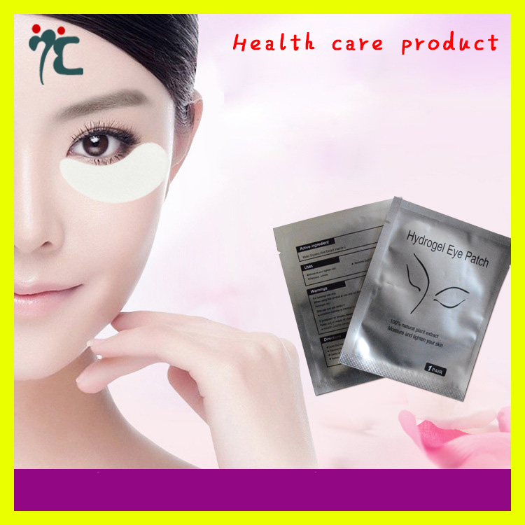Adhesive under eye pads eyelash extension eye gel patch for adults