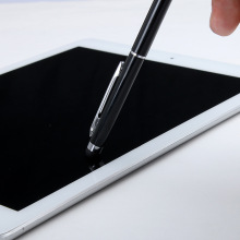 Custom Logo High Sensitive Capacitive Touch Screen Pen Stylus for iPad/iPhone Metal Ball Point Pen