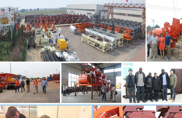 Construction batching machine 25m3/h mobile concrete plant price