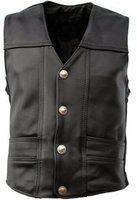 Leather Vest Coat for men / Leather Garments in Sialkot for men / Leather Fashion Garments