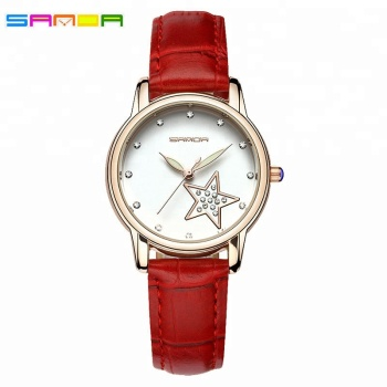 Sanda New Arrival High Quality Women Wholesale Cheap Wristwatch
