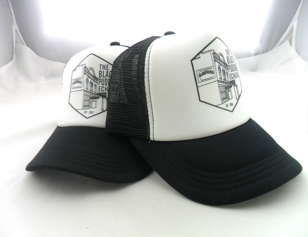 Striped Trucker Cap Two Tone Mesh Back Cap Rival Race Mesh Cap