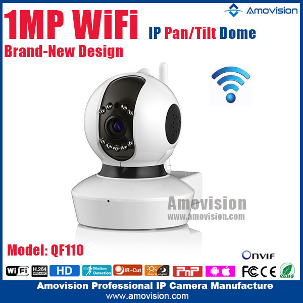 QF110 wireless Housing 1.0 MP 960p <strong>WiFi</strong> two way audio pan tilt with IR hidden night vision newwork camera alibaba wholesale