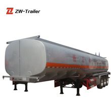 3 axles water fuel tank trailer semi military small strong box trailers for sale