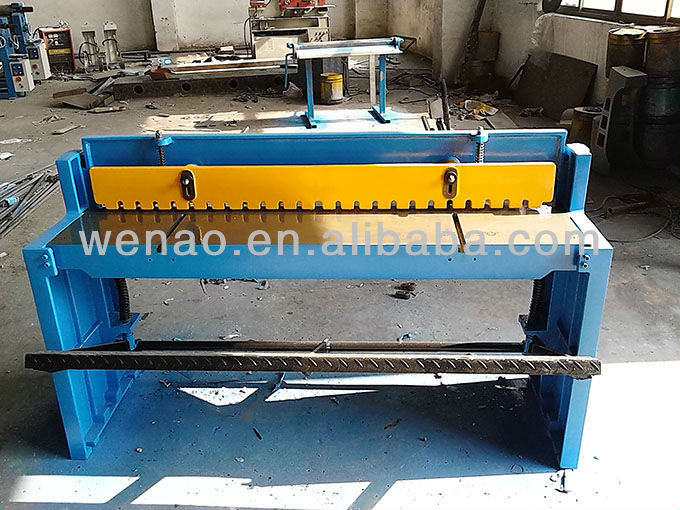foot shearing machine
