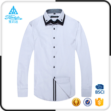 Fashional Designed Double Collar and Cuff White Shirts For Men