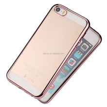2016 best Electroplating Soft TPU for iphone 5 Case 360