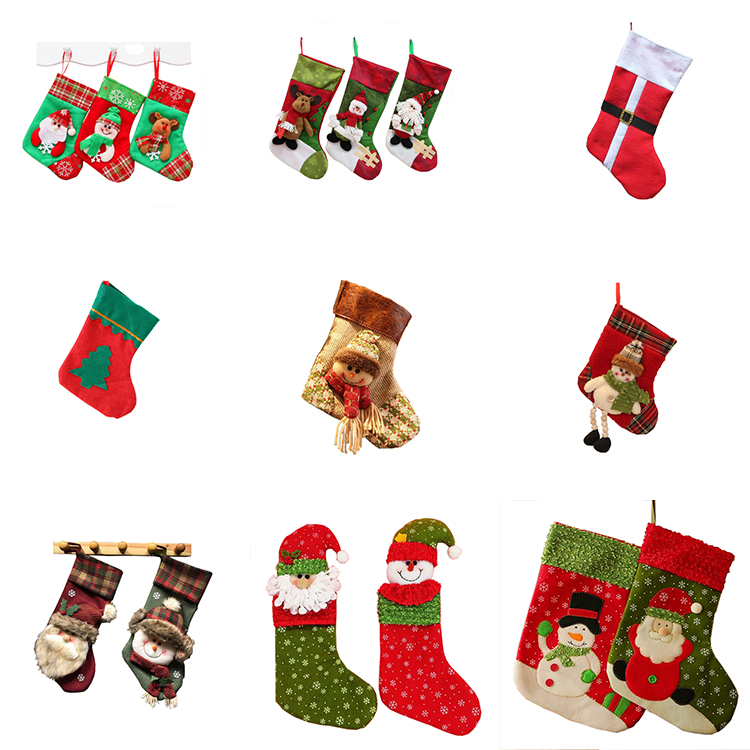 Promotional and Custom christmas stocking for christmas ornament