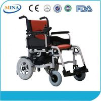 MINA-6201 economic type electric wheelchair&power wheelchair&disabled wheelchair with lead acid battery