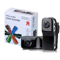 Mini DV Com Mercial Video Spy Voice Activated Trigger Long Time Recording Small Wireless Hidden Camera