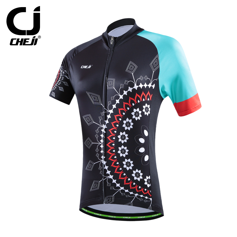 2016 cheji womens cycling tops <strong>specialized</strong> / custom cycling jersey quickly vents perspiration bike apparel