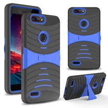 USA hot selling hybird kickstand mobile phone back case for zte z982