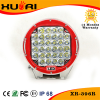 Super Bright Car Accessories 96W Red Led Work Light Led Headlight Tuning Light