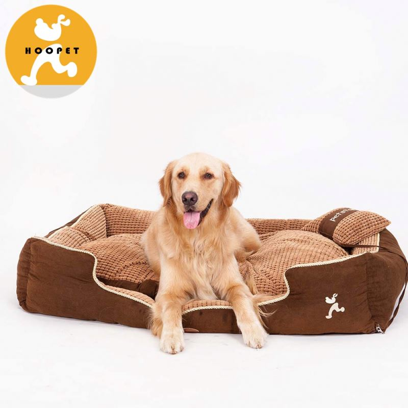 Premium Chew-proof dog beds with removable cushion
