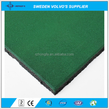 Wholesale Green Playground Rubber Tiles