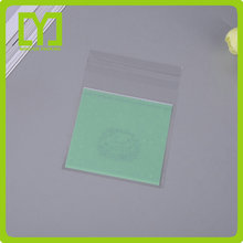 2017 Alibaba China Top Quality Promotional Plastic Opp Bag with Adhesive Tape