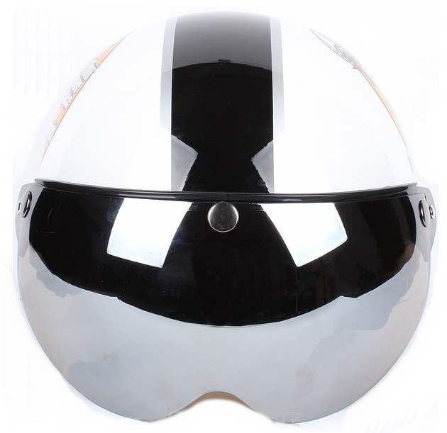 high quality 2014 new model scooter helmet with W visor
