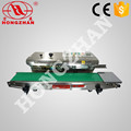 Continuous sealing machine with ink printer