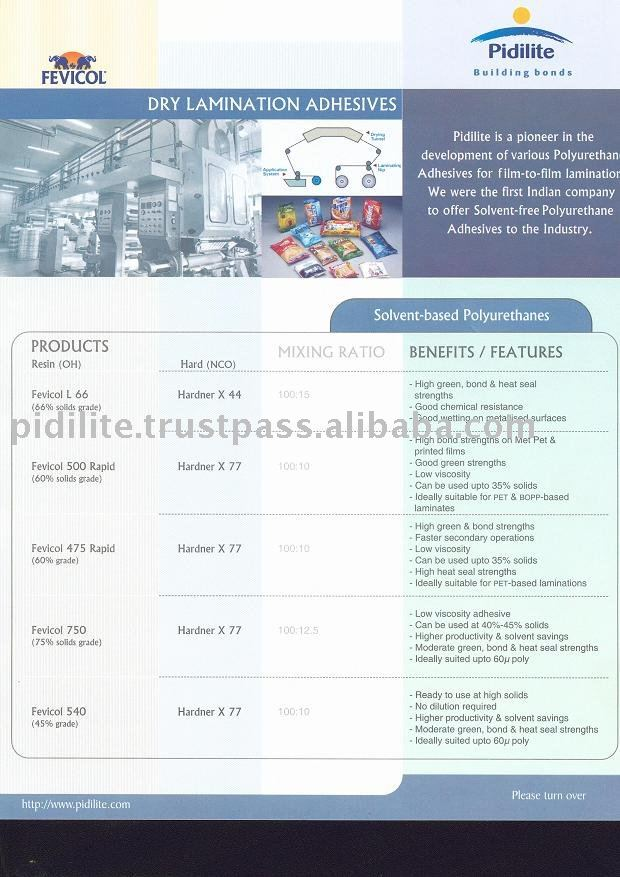 Adhesives for all type of Packing
