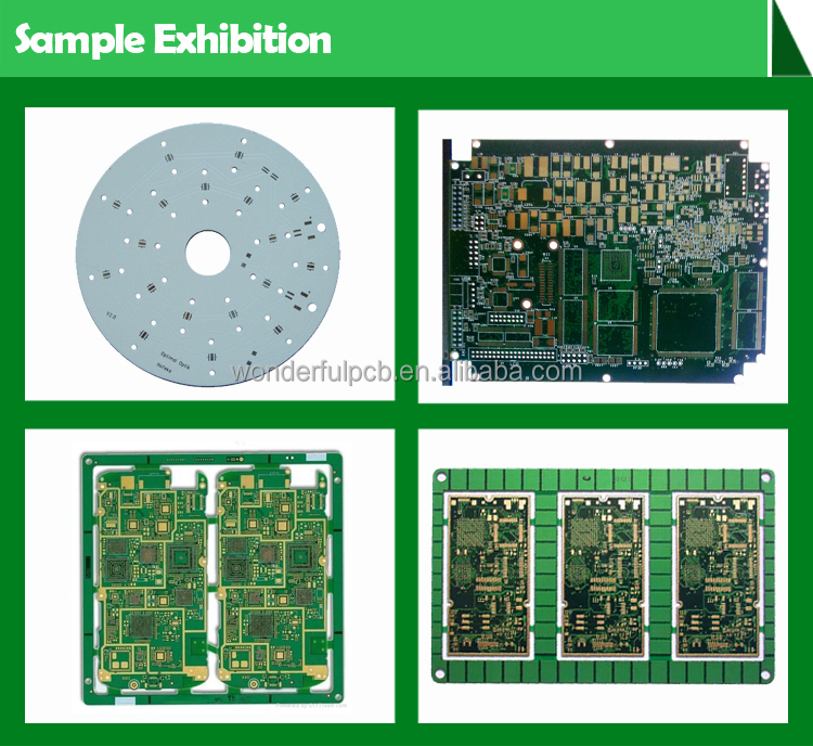 High quality 94v0 fr4 2 layer pcb circuit boards and pcb assembly